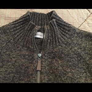 Ruff Hewn men's sweater full zip size L